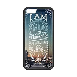iPhone 6 Protective Case -Bible Verse Hardshell Cell Phone Cover Case for New iPhone 6