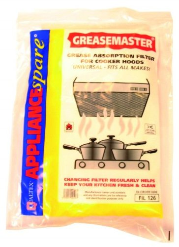 COOKER HOOD GREASE MASTER FOAM FILTER with Exact Fit Guarantee Yourspares
