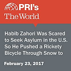 Habib Zahori Was Scared to Seek Asylum in the U.S. So He Pushed a Rickety Bicycle Through Snow to Get to Canada.