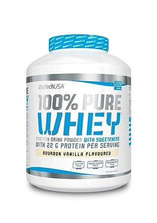 Biotech 100% Pure Whey Proteínas Chocolate - 2270 gr: Amazon.es: Salud y cuidado personal