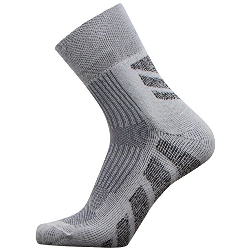 PureAthlete Hiking Socks - Chevron Crew Outdoor Socks, Camping Socks - Comfortable Moisture Wicking - Yarn Simply Socks