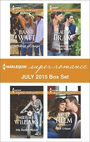 book cover of Harlequin Superromance July 2015 - Box Set