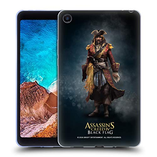 Official Assassin's Creed Bartholomew Roberts Black Flag Characters Soft Gel Case for Xiaomi Mi Pad 4