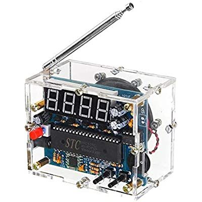 ZhanPing TEA5767 4 5V-5 5V Mini Digital Radio 87MHZ-108MHZ 8ohm Speaker Electronics Driver Modules