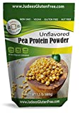 Pea Protein Powder (80% protein) 1.5 lb, Non-GMO, Vegan, Gluten & Nut Free- Boost your recipes and smoothies with 20 grams protein/serving