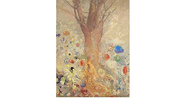 Van-Go Paint-By-Number Kit The Boat with Two Women in White by Odilon Redon