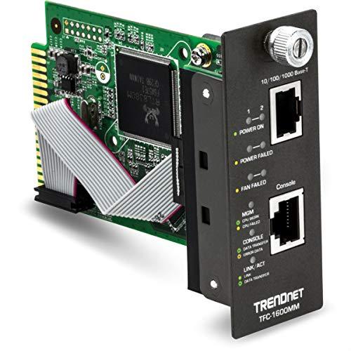 (TRENDnet SNMP Management Module for TFC-1600, Lifetime Protection, TFC-1600MM)