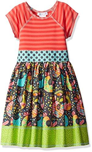 Bonnie Jean Big Girls' Stripe Knit to Mixed