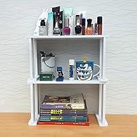 Estilo de escritorio Apilable Cocina Baño Carga-Cojinete Organizar ...