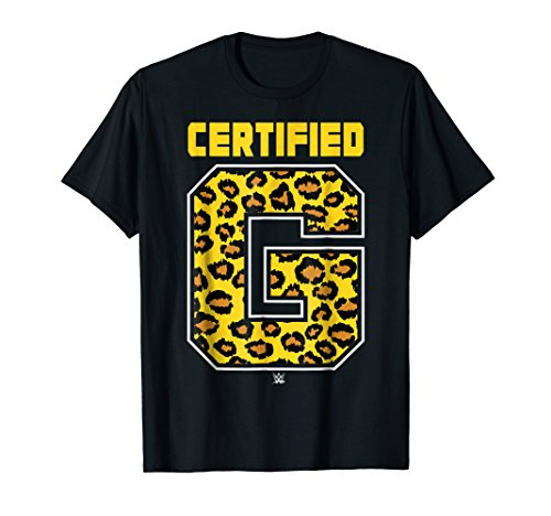 WWE Enzo & Big Cass Certified G Leopard Print T-Shirt by WWE