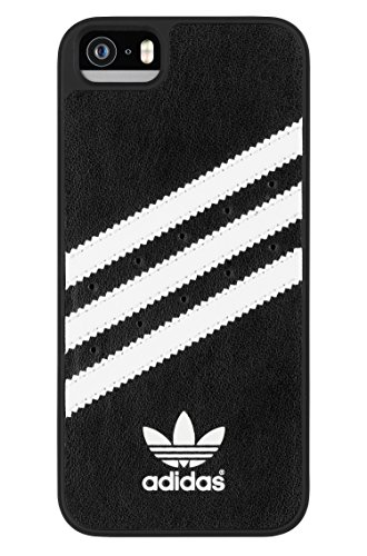 adidas Molded Cell Phone Case for Apple iPhone 5S/SE – Retail Packaging – Black/White