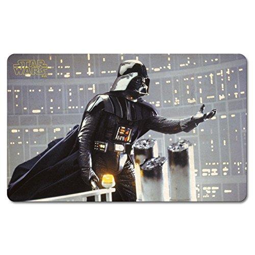 Star Wars 6410799000 Frühstücksbrettchen, Krieg der Sterne, Darth Vader, The Power, Lizenziertes Originaldesign, Logoshirt