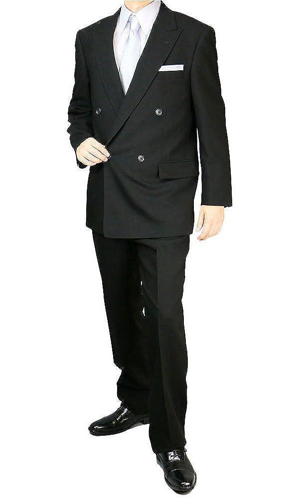 礼服 メンズ ダブルフォーマルスーツ サマー礼服 結婚式 冠婚葬祭 7300 B00E95002A A体(標準) 4号(160-165)