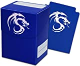 Blue Trading Card Boxes - Gaming Deck Cases - Each Holds 80 Cards - DC-BLU - (90 Boxes)