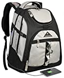 Travel Laptop Backpack,College School Backpack With USB Charging Port, Extra Large TSA Water Resistant Business Backpack,Big Computer Bag Fit 15-6 Inch Laptop And Notebook-Grey