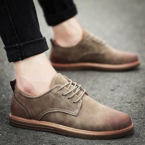 por opción de Primavera Zapatos ocasionales marea tamaño múltiple hombre colores y Moda de 3 Zapatos Feifei 01 otoño qZfO44