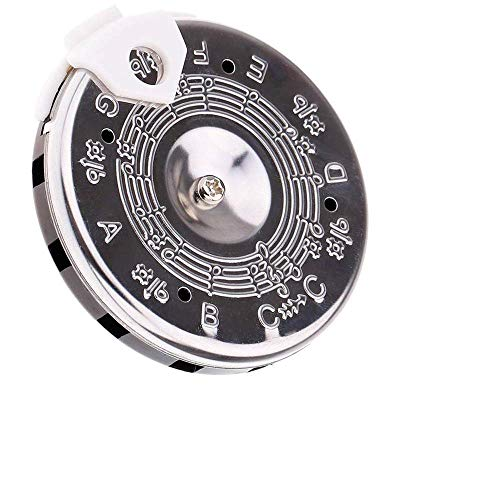 Timiy C-C Pitch Pipe 13 Tone Pitch Pipe Tuner C-C Note Selector for Pipa, Urheen, Liu-chin, Kao-hu, Guitar, Bass and Violin (C-C)