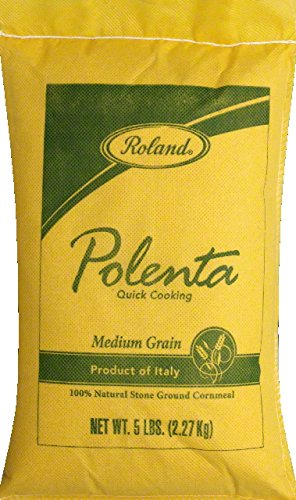 Roland: Medium Grain Polenta 5 Lb (4 Pack)