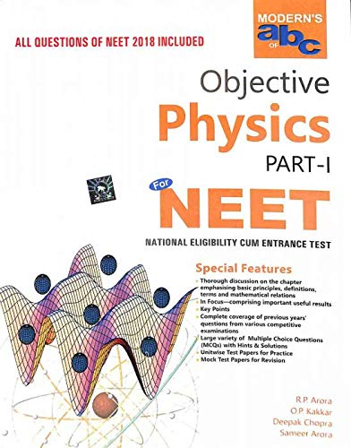 Buy Modern's ABC of Objective Physics Part I & Part II (NEET