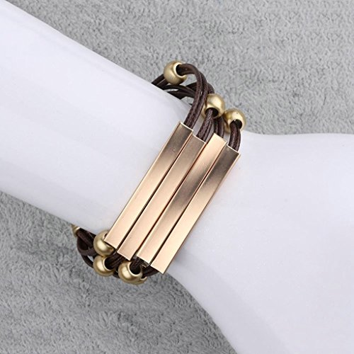 Wolf Haley Costume (AmDxD Jewerly Gold Plated Men Bracelet Gold Rectangle Cut 20CM with 5CM Extension Chain,as Best Gift)