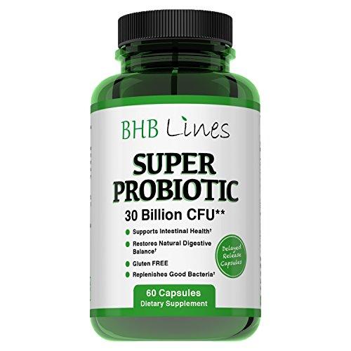 BHB Lines Super Probiotic Gluten-Free 60 Caps… by BHB Lines