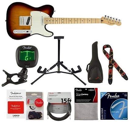 Fender Player Telecaster Guitarra eléctrica, 22 trastes, cuello de ...