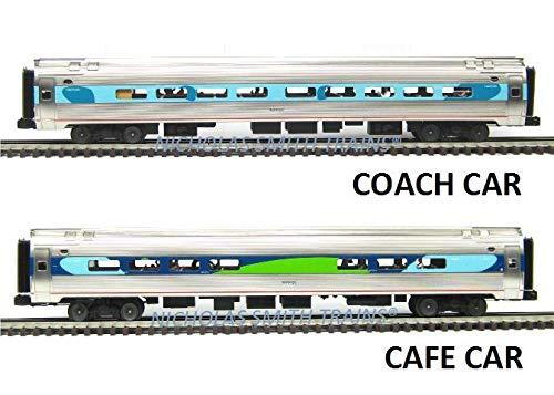 MTH TRAINS; MIKES TRAIN HOUSE Amtrak Capstone AMFLEET 4個パック B07KJXBW11
