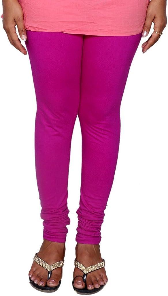 Indistar Big Girls Premium Cotton Churidar Full Ankle Length Legging