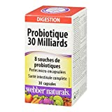 Webber Naturals Probiotic 30 Billion, 8 Probiotic Strains, 30-Count