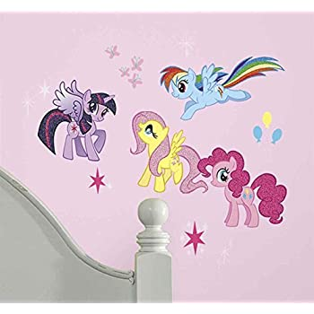 Captivating RoomMates RMK2498SCS My Little Pony Peel And Stick Wall Decals