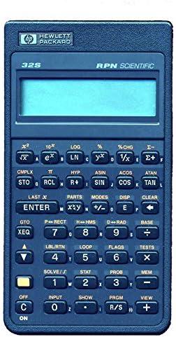 Hewlett Packard HP 32s RPN Scientific Calculator