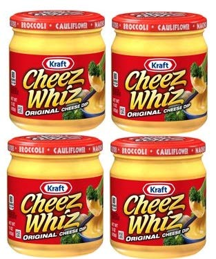 Kraft Cheez Whiz Original Cheese Dip, 15 oz Jar by Kraft Cheese