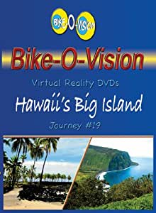 Bike-O-Vision - Virtual Cycling Adventure - Hawaii's Big Island - Perfect for Indoor Cycling and Treadmill Workouts - Cardio Fitness Scenery Video (Fullscreen DVD #19)