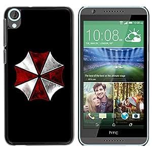 Planetar® ( Umbrella Corp Evil ) HTC Desire 820 Fundas Cover Cubre Hard Case Cover