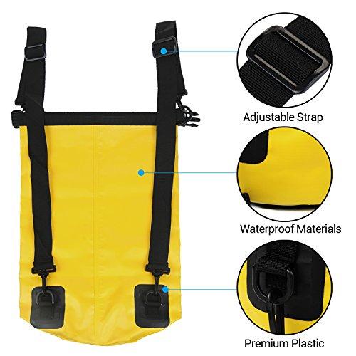 Waterproof dry bag yokirin lightweight floating roll top for Ap fishing backpack