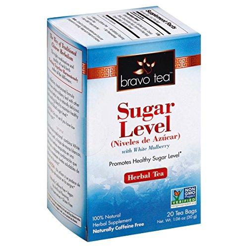 Bravo Teas Sugar Level with White Mulberry, 1 Ounce (Controller Sugar Herb Tea)