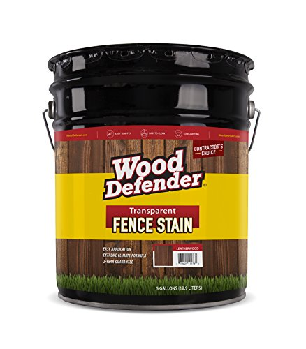 Wood Defender - Transparent Fence Stain- Cedar Tone- 5 Gallon