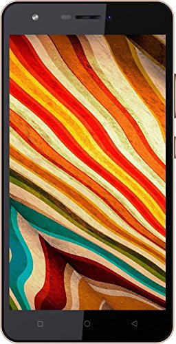 Karbonn Aura Note 4G  Black Gold, 16 GB