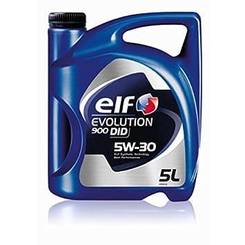 Elf - Evolution 900 Did 5w30: Amazon.es: Coche y moto