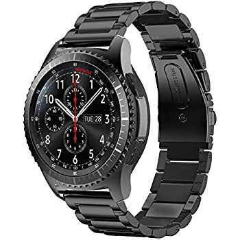 Amazon.com: Gear S3 Frontier / Classic Watch Band, V-Moro 22mm ...