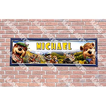 Personalized//Customized Chicago Bears #2 Name Poster Wall Art Decoration Banner