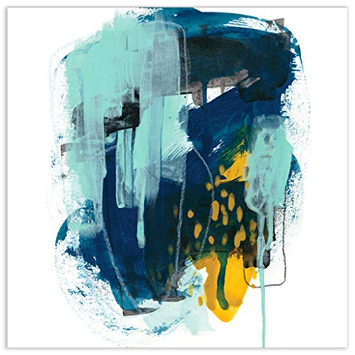 Empire Art Direct Abstract Art,Colorful Frameless Tempered Glass Panel,Contemporary Wall Decor Ready to Hang,Living Room,Bedroom & Office