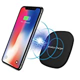 Iphone Wireless Charger, S8 Plus Charger Iphone x Charging Pad 10W iPhone 8 / 8 Plus, Samsung Galaxy Note 8 / S8 / S8 Plus, S7 / S7 Edge,Nokia Lumia 820,1020,1520 ,Nexus 4/5/6/7,All Qi-Enabled Devices