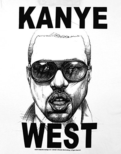 Hommes Amplified Clothing West T shirt Kanye 4P5wHqPx