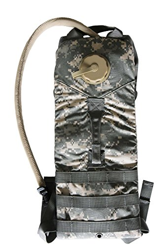 Eagle Industries US Military Molle 100 oz 3 Liter ACU Hydration Water Carrier Backpack with Bladder (ACU Digital) ()