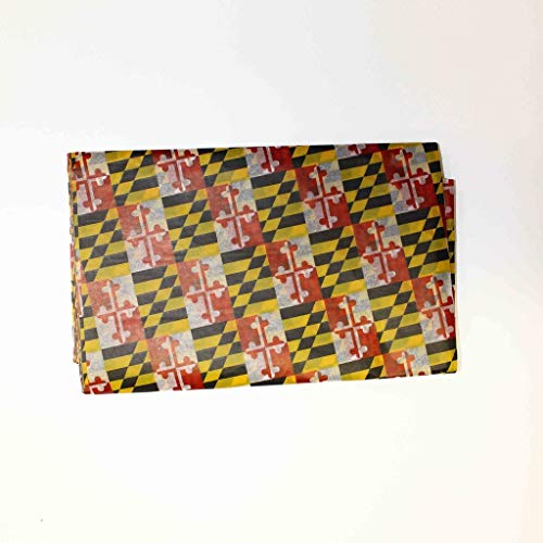 (Route One Apparel | Maryland Flag Pattern Gift Wrapping Tissue Paper - 15