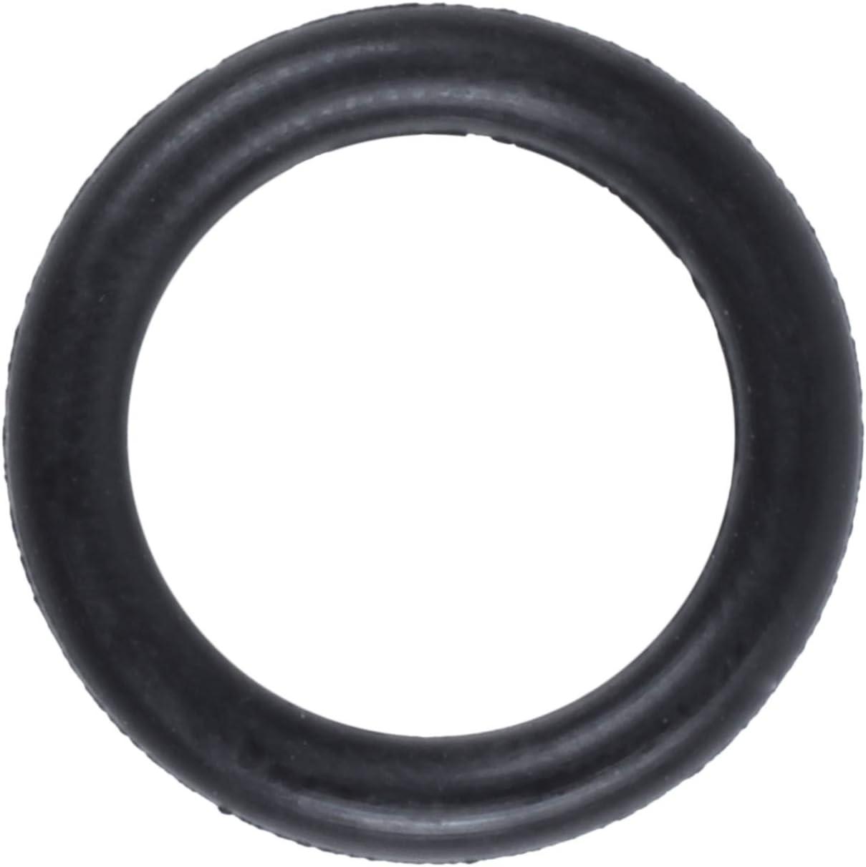 Glossia 10 Stueck Schwarz Gummi Oil Seal O-Ringe Dichtungen Unterlegscheiben 16x11x2.5mm