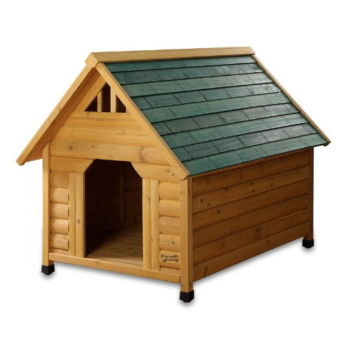 Pet Squeak Alpine Lodge Dog House, Medium