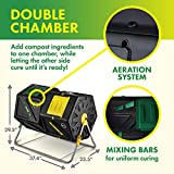 Miracle-Gro Large Dual Chamber Compost Tumbler