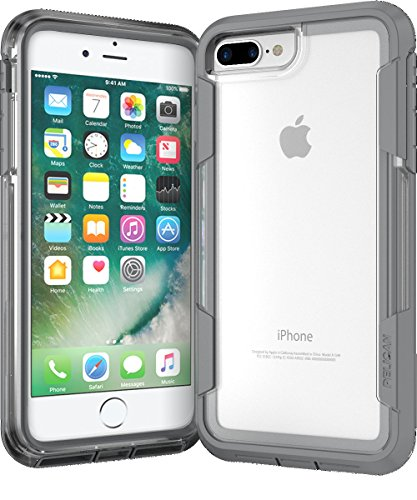 Voyager Cell Cases Phone - Pelican Voyager iPhone 7 Plus Case (Clear/Gray)